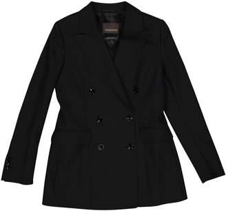Trussardi Black Wool Jackets