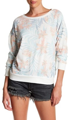 Rip Curl Tropicana Crew Neck Sweater $54 thestylecure.com