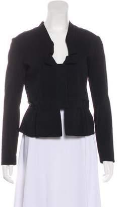Valentino Knit Asymmetrical Jacket