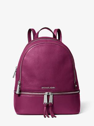Michael Kors Rhea Medium Leather Backpack