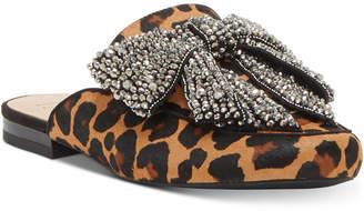 INC International Concepts Inc Gannie Slip-On Mule Loafer, Women Shoes