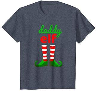 DADDY ELF Funny Christmas T-Shirt | Xmas Santa Helper Shirt