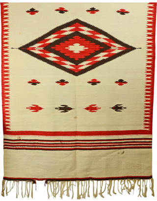 Rejuvenation Large Navajo Rug w/ Bird Motif