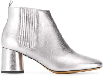 Marc Jacobs metallic ankle boots