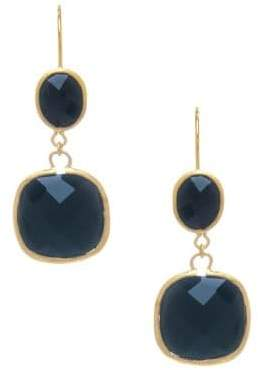 Rivka Friedman Black Onyx Drop Earrings