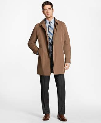 Brooks Brothers Single-Breasted Rain Coat