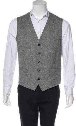 Michael Kors Herringbone Suit Vest