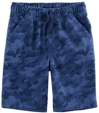 Boys 4-10 Jumping Beans Camouflaged Pull On Shorts