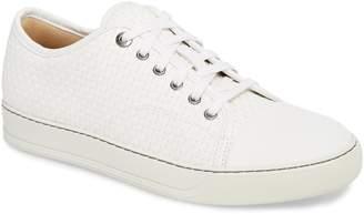 Lanvin Woven Low Top Sneaker