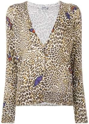 Liu Jo leopard print cardigan