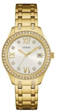 GUESS W0848L2 Goldtone Stainless Steel Bracelet Watch