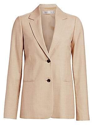 Victoria Beckham Women's Wool Tailored Blazer