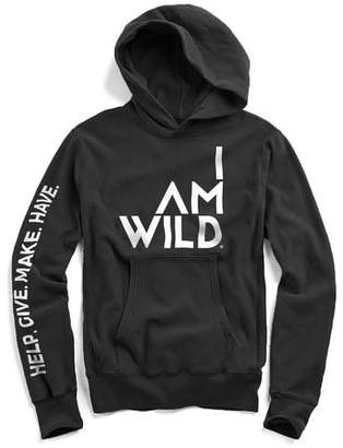 Todd Snyder IAMWILD® Popover Hoodie In Black