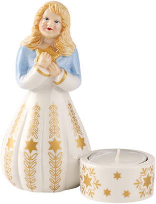 Villeroy & Boch Nostalgic Light Angel Figurine Votive 5 in