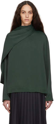 Joseph Green Cannon-Glazed Cady Blouse