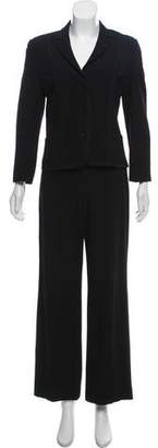 Akris Punto Wool Two-Piece Pant Suit