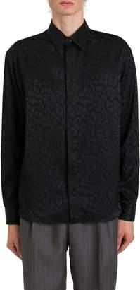 Christian Dior Jacquard Leopard Shirt