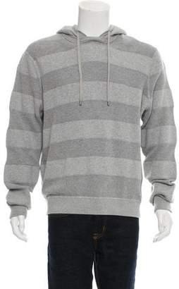 Michael Kors Hooded Striped Sweatshirt