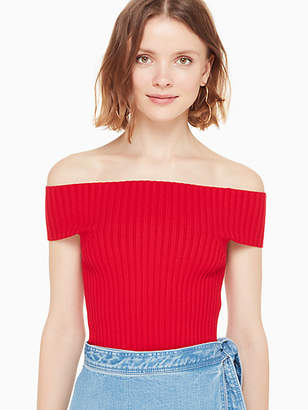 Kate Spade Off the shoulder sweater