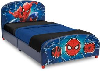 Spiderman Delta Children Marvel Upholstered Twin Bed