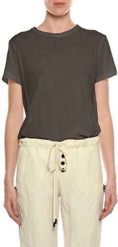 TOM FORD Crewneck Short-Sleeve Cotton T-Shirt
