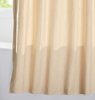 Rejuvenation Natural Duck Cloth Shower Curtain