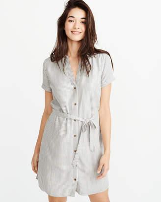 Abercrombie & Fitch Short-Sleeve Shirt Dress
