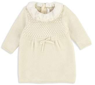 Chloé Girls' Removable Collar Knit Dress - Baby