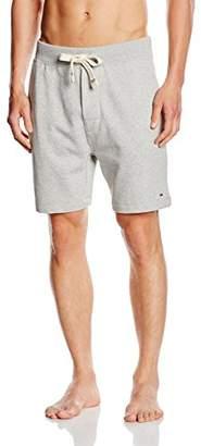 Tommy Hilfiger Men's Icon HWK Short Pyjama Bottoms, (Grey Heather BC05), M