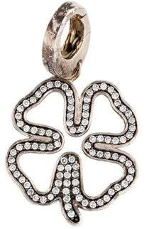 Ippolita Diamond Shamrock Charm