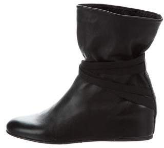 Stuart Weitzman Wedge Ankle Boots