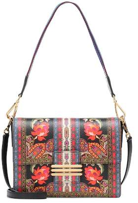 At Mytheresa Etro Printed Leather Shoulder Bag