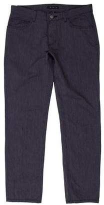 Theory Casual Linen-Blend Pants