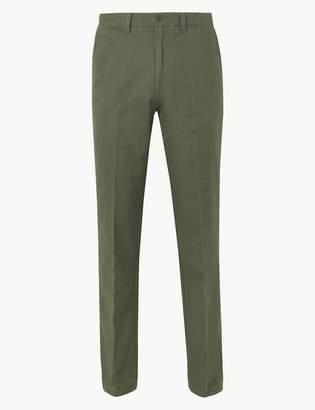 M&S CollectionMarks and Spencer Pure Cotton Chinos with Stormwear
