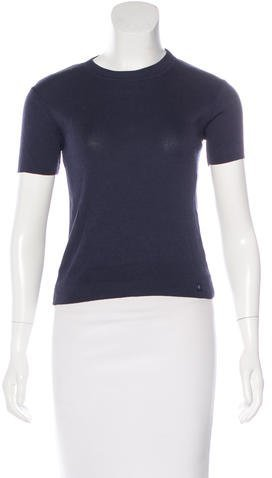 Chanel Chanel Crew Neck Short Sleeve Sweater