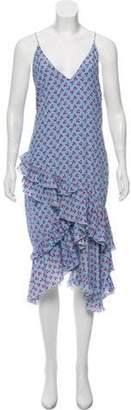 Altuzarra Sleeveless Cherry Print Dress blue Sleeveless Cherry Print Dress