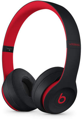 Apple Beats Solo3 Wireless On-Ear Headphones - The Beats Decade Collection - Defiant Black-Red
