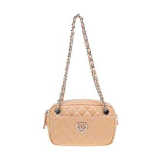 Chanel Beige Patent leather Handbag