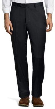 Palm Beach Cole Flat Front Wool Suit Pants