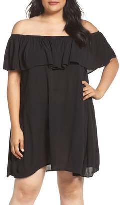 Becca Etc Southern Belle Off the Shoulder Cover-Up Dress