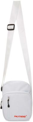 Polythene* Optics White Shoulder Bag