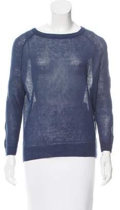 Tess Giberson Linen Long Sleeve Sweater
