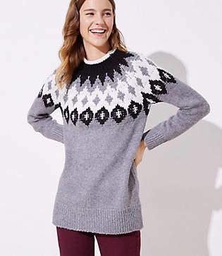 LOFT Fairisle Sweater