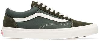 Vans Old Skool suede, canvas and rubber sneakers