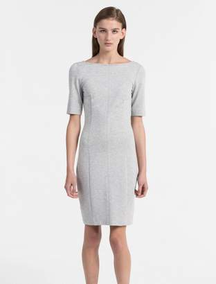 Calvin Klein milano jersey dress