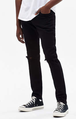 PacSun Ripped Black Skinny Jeans