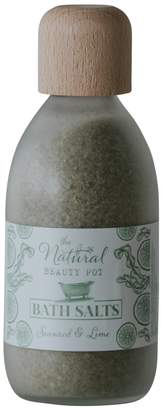 The Natural Beauty Pot - Seaweed & Lime Bath Salts