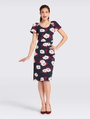 Draper James Collection Floral Flutter Sleeve Dress