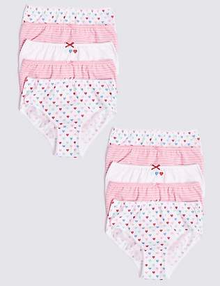 Marks and Spencer 10 Pack Pure Cotton Briefs (1-10 Years)