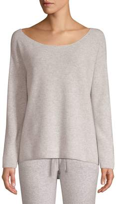 Monrow Off-The-Shoulder Ribbed Sweater